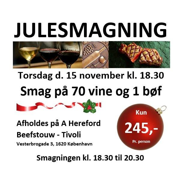 Julesmagning 15/11 - Tivoli København